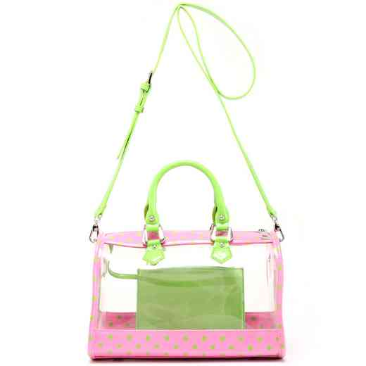 H160426-11-APK-LMGR: Moniqua Clear Satchel APK-LMGR