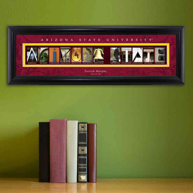 GC1068 ARIZONAST: PERSONALIZED ARCHITECTURAL ART, ARIZONA ST