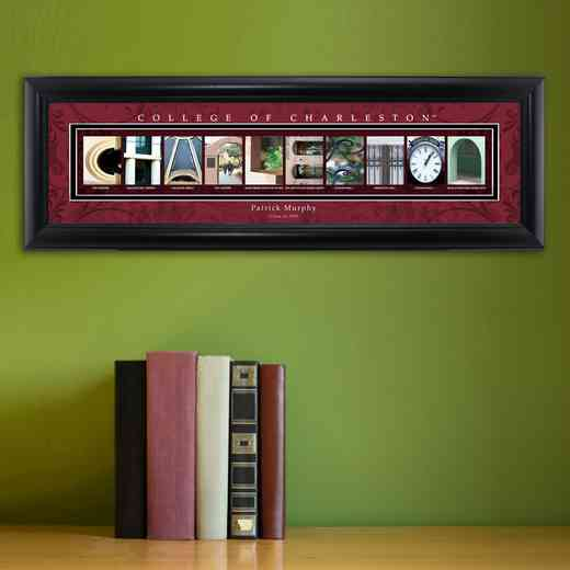 GC1068 CHARLESTON: PERSONALIZED ARCHITECTURAL ART, CHARLESTON