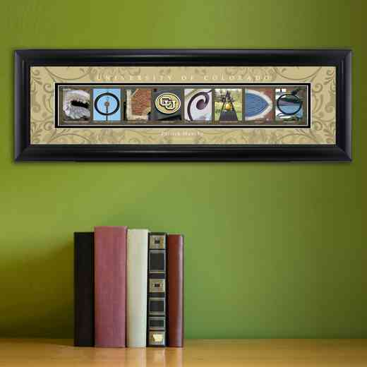 GC1068 COLORADO: PERSONALIZED ARCHITECTURAL ART, COLORADO
