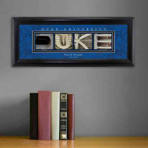 GC1068 DUKE: PERSONALIZED ARCHITECTURAL ART, DUKE