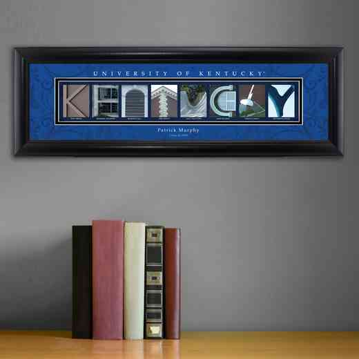 GC1068 KENTUCKY: PERSONALIZED ARCHITECTURAL ART, KENTUCKY