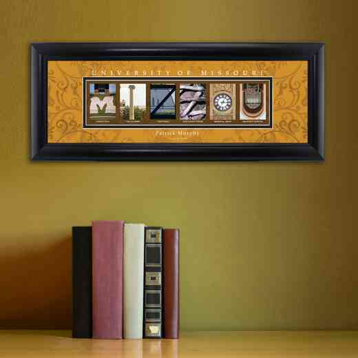 GC1068 MISSOURI: PERSONALIZED ARCHITECTURAL ART, MISSOURI