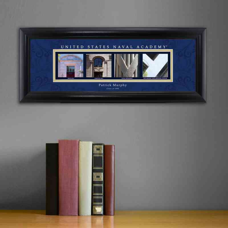 GC1068 NAVALACAD: PERSONALIZED ARCHITECTURAL ART, NAVAL ACADEMY