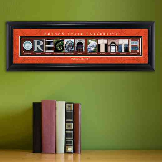 GC1068 OREGONST: PERSONALIZED ARCHITECTURAL ART, OREGON ST