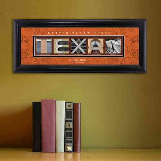 GC1068 TEXAS: PERSONALIZED ARCHITECTURAL ART, TEXAS