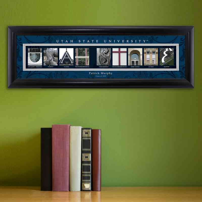 GC1068 UTAHST: PERSONALIZED ARCHITECTURAL ART, UTAH ST