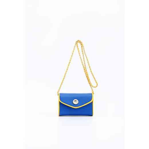 H150330-11-IMPBLU-YGO: Eva Clutch Handbag  IMPLU/YGO