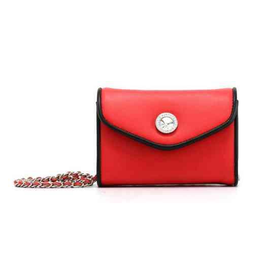 H150330-11-RR-BLK: Eva Clutch Handbag  RR/BLK
