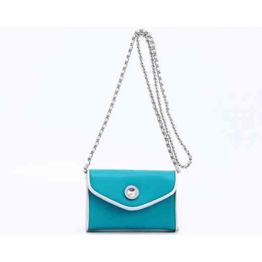 H150330-11-TUR-S: Eva Clutch Handbag  TUR/S