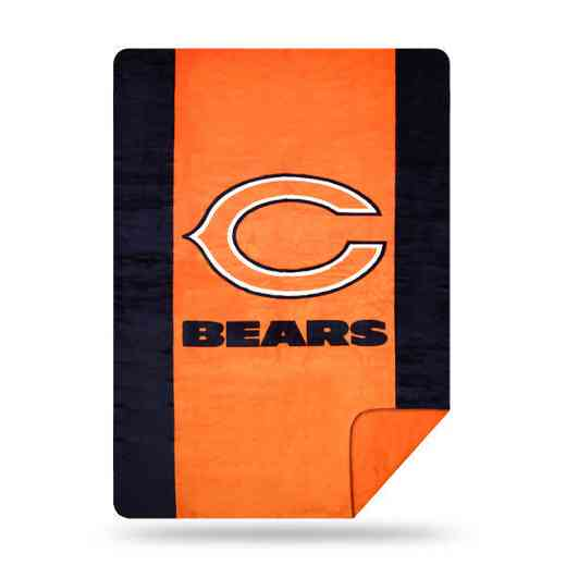 1NFL361000001RET: NFL 361 Bears Sliver Knit Throw