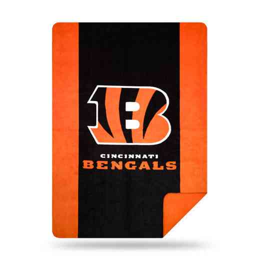 1NFL361000002RET: NFL 361 Bengals Sliver Knit Throw