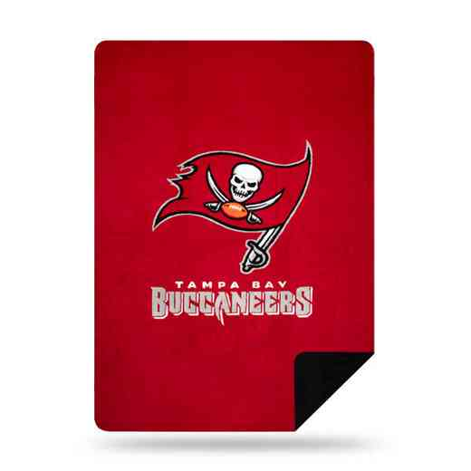 1NFL361000006RET: NFL 361 Bucs Sliver Knit Throw