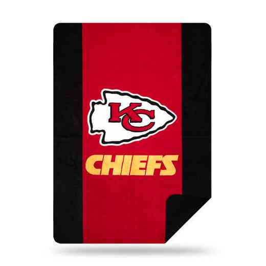 1NFL361000007RET: NFL 361 Chiefs Sliver Knit Throw