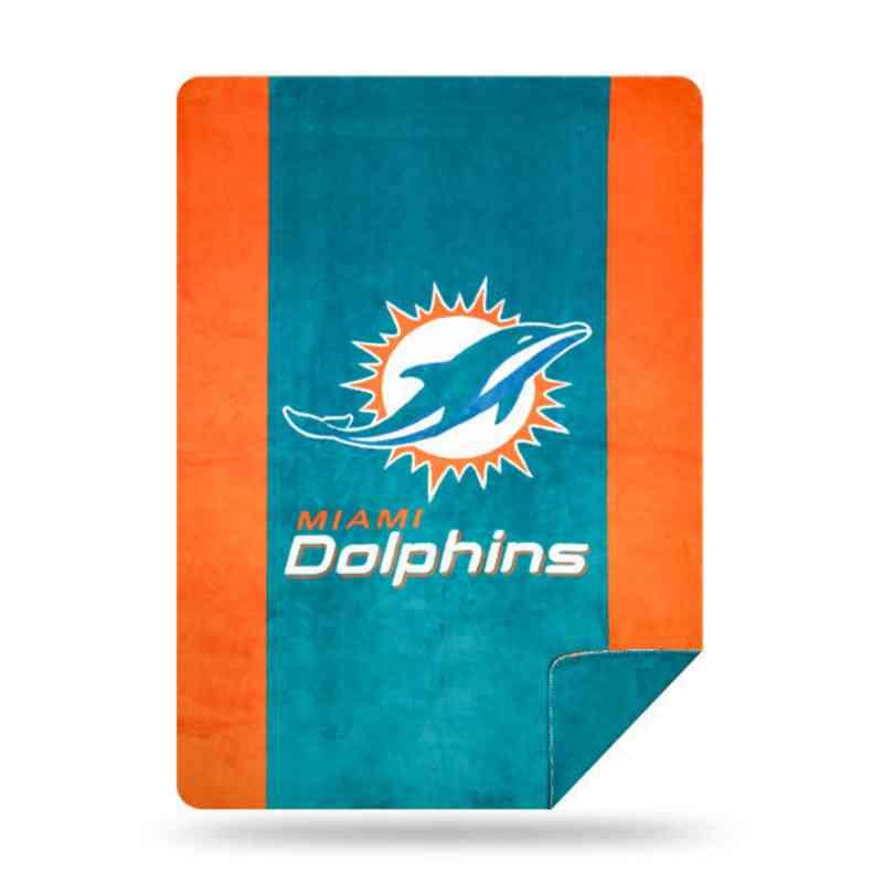 1NFL361000010RET: NFL 361 Dolphins Sliver Knit Throw
