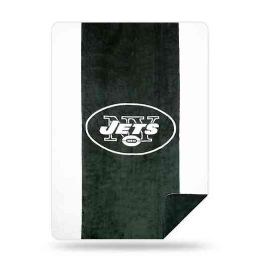 1NFL361000015RET: NFL 361 Jets Sliver Knit Throw