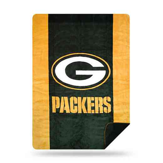 1NFL361000017RET: NFL 361 Packers Sliver Knit Throw