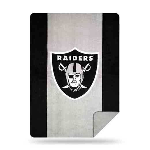 1NFL361000019RET: NFL 361 Raiders Sliver Knit Throw
