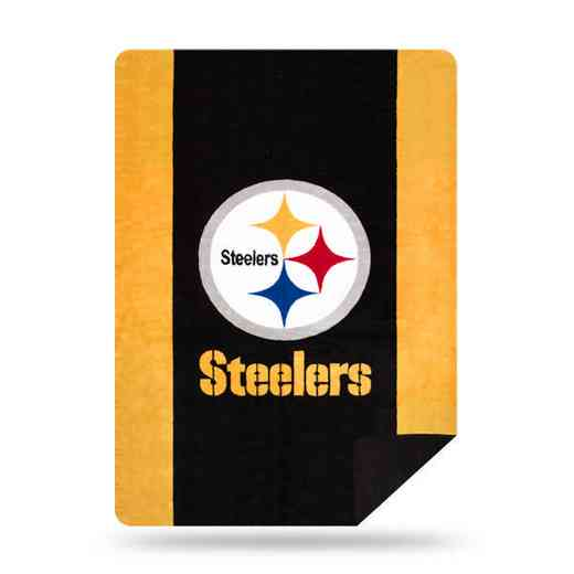 1NFL361000078RET: NFL 361 Steelers Sliver Knit Throw