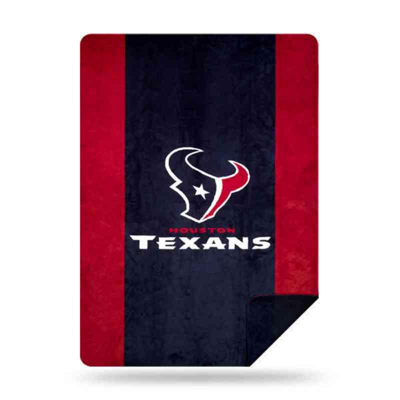1NFL361000119RET: NFL 361 Texans Sliver Knit Throw