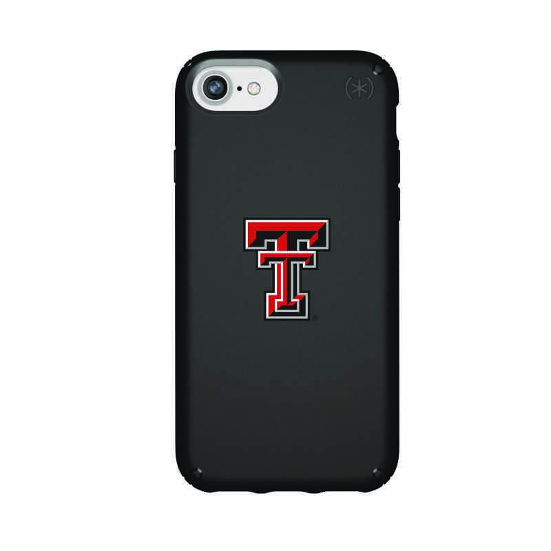 IPH-876-BK-PRE-TT-D101: FB Texas Tech iPhone 8/7/6S/6 Presidio