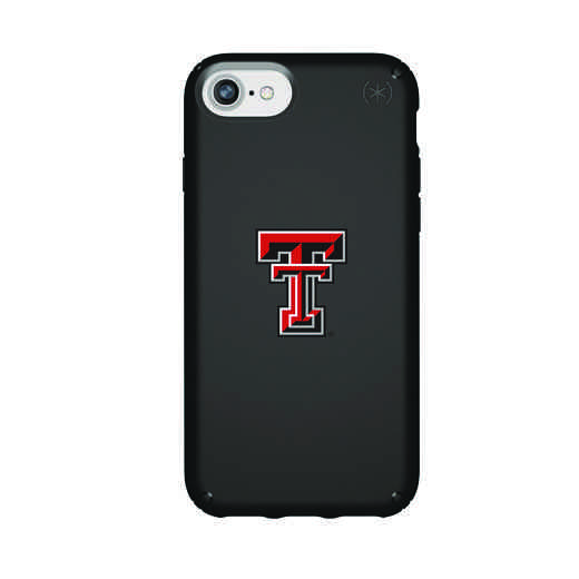 IPH-876-BK-PRE-TT-D101: FB Texas Tech iPhone 8/7/6S/6 Presidio