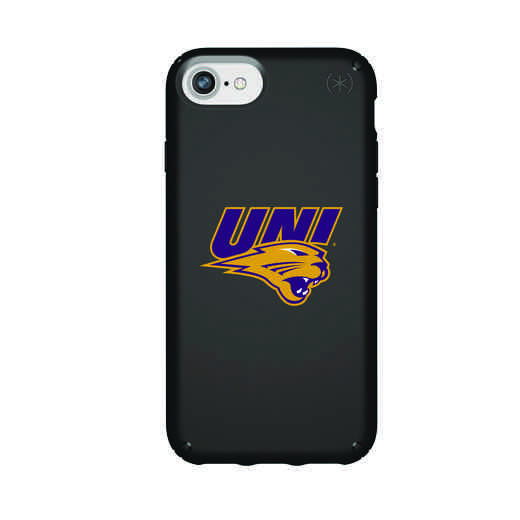 IPH-876-BK-PRE-UNI-D101: FB Northern Iowa iPhone 8/7/6S/6 Presidio