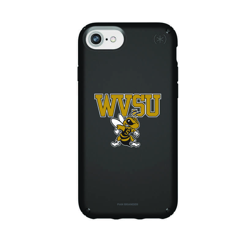 IPH-876-BK-PRE-WVSU-D101: FB West Virginia St iPhone 8/7/6S/6 Presidio