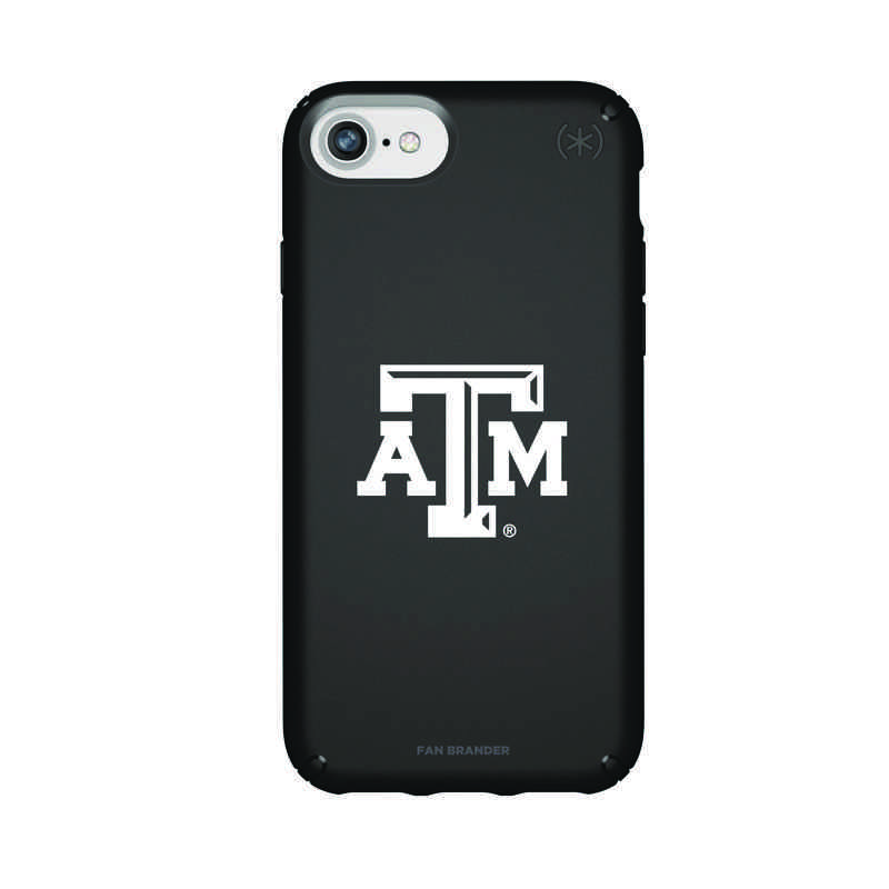 IPH-876-BK-PRE-TAM-D101: FB Texas A&M iPhone 8/7/6S/6 Presidio
