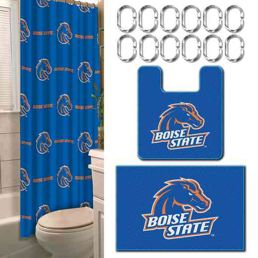 1COL893000093WMT: NW Boise State 15 Pc Bath Set