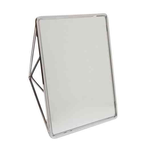 26428-CHR: KEN Geometric Two Way Vanity Mirror- CHROME