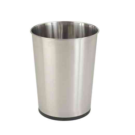 4931-SS : KEN 5L TRASH BIN-STAINLESS STEEL OPEN TOP