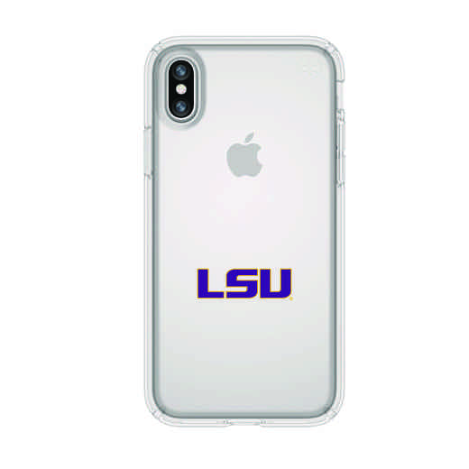 IPH-X-CL-PRE-LSU-D101: FB LSU iPhone X Presidio Clear