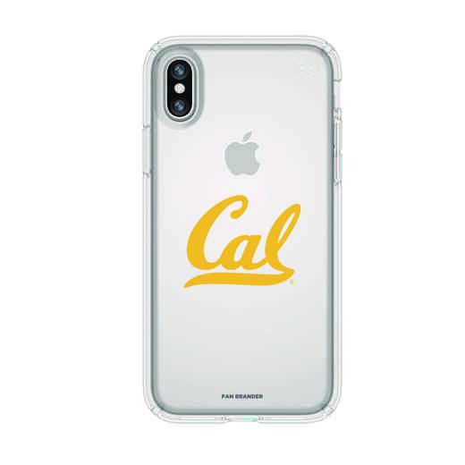 IPH-X-CL-PRE-CAL-D101: FB California iPhone X Presidio Clear