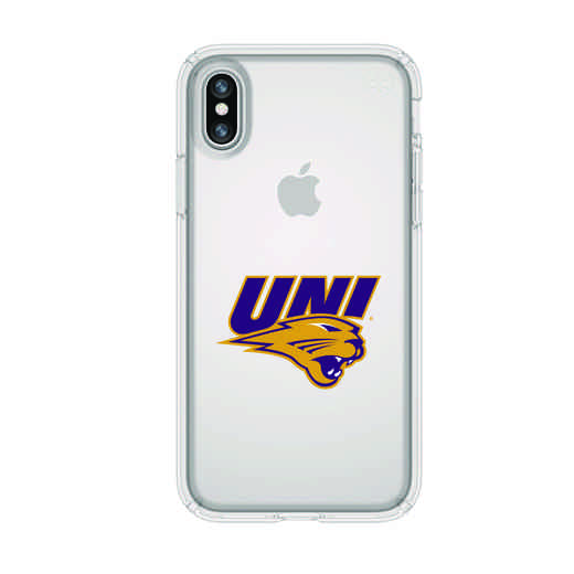 IPH-X-CL-PRE-UNI-D101: FB Northern Iowa iPhone X Presidio Clear