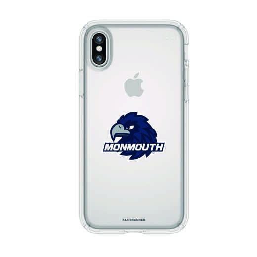 IPH-X-CL-PRE-MONU-D101: FB Monmouth iPhone X Presidio Clear