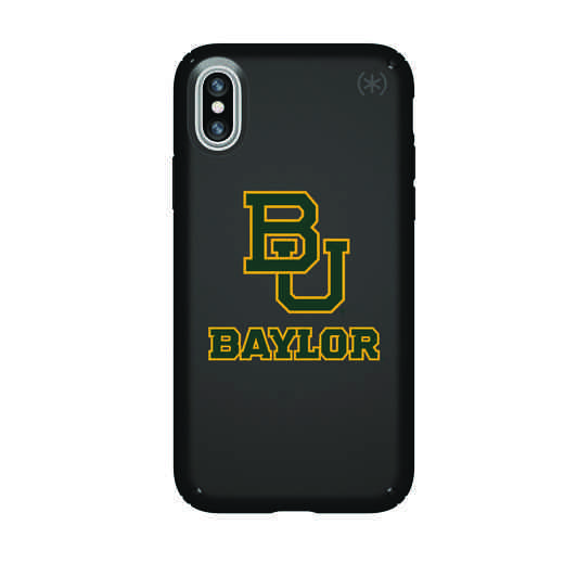 IPH-X-BK-PRE-BAY-D101: FB Baylor iPhone X Presidio