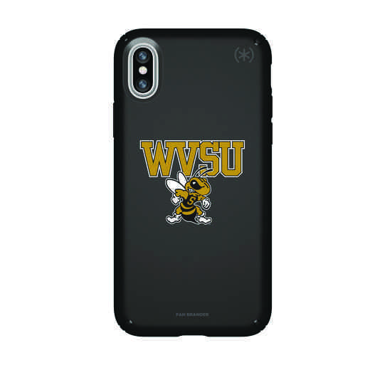 IPH-X-BK-PRE-WVSU-D101: FB West Virginia St iPhone X Presidio