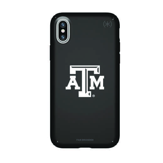 IPH-X-BK-PRE-TAM-D101: FB Texas A&M iPhone X Presidio