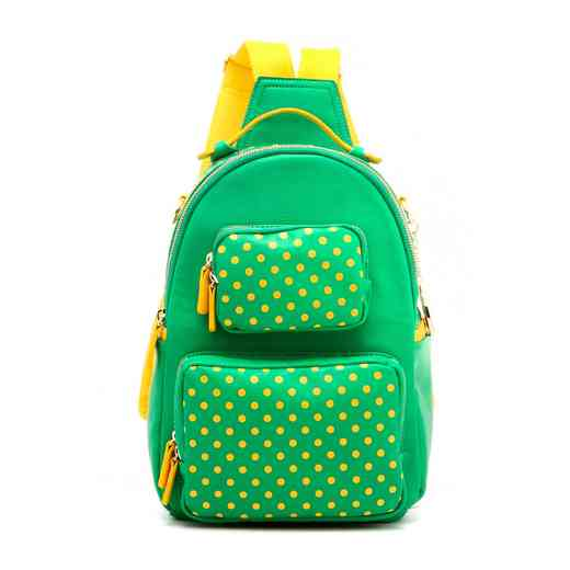 H160614-30-FRNGR-YGO  Natalie Michelle Large FRNGR-YGO · Women s Fern Green    Yellow Gold PU Waterproof Backpack ... 2101316b86dd1