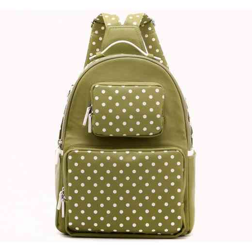 H160614-31-OLGR-W  Natalie Michelle Medium OLGR-W. Women s Olive Green    WHT PU Waterproof ... dd9733ef96197