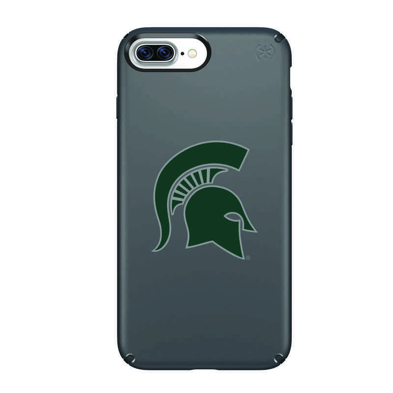 IPH-87P-BK-PRE-MCS-D101: FB Michigan St iPhone 8 and iPhone 7 Plus Speck Presidio