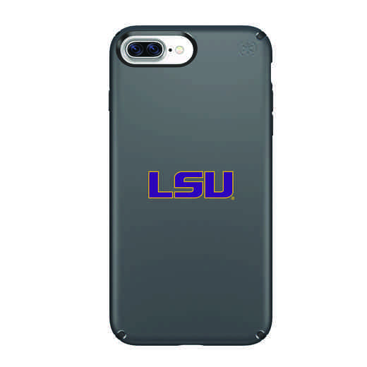 IPH-87P-BK-PRE-LSU-D101: FB LSU iPhone 8 and iPhone 7 Plus Speck Presidio