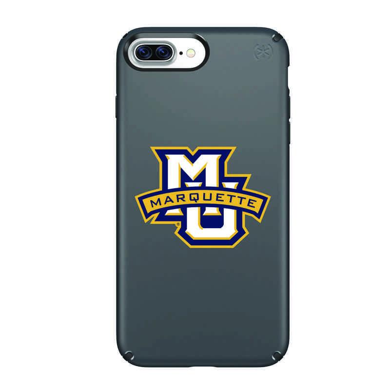 IPH-87P-BK-PRE-MAQ-D101: FB Marquette iPhone 8 and iPhone 7 Plus Speck Presidio
