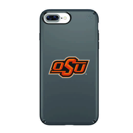 IPH-87P-BK-PRE-OKS-D101: FB Oklahoma St iPhone 8 and iPhone 7 Plus Speck Presidio