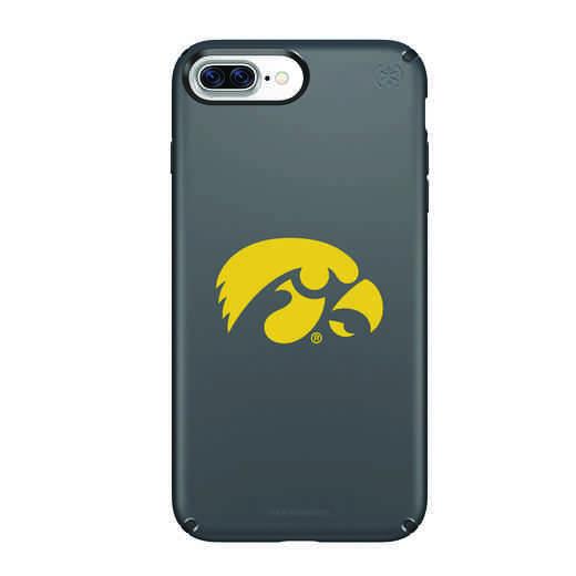IPH-87P-BK-PRE-UIA-D101: FB Iowa iPhone 8 and iPhone 7 Plus Speck Presidio
