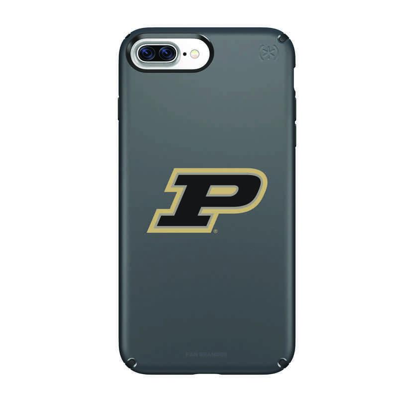 IPH-87P-BK-PRE-PUR-D101: FB Purdue iPhone 8 and iPhone 7 Plus Speck Presidio