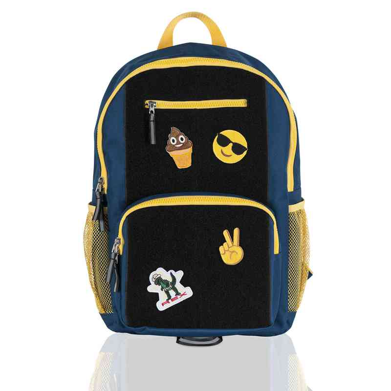 Limited: ID Backpack- Blue/Yellow