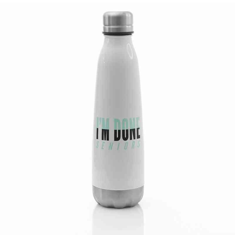 Limited: I'm Done Senior 2019 Stainless Steel Bottle