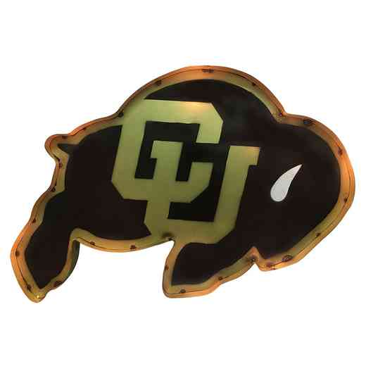 BUFFWD: LRT Colorado Buffalo Metal Décor